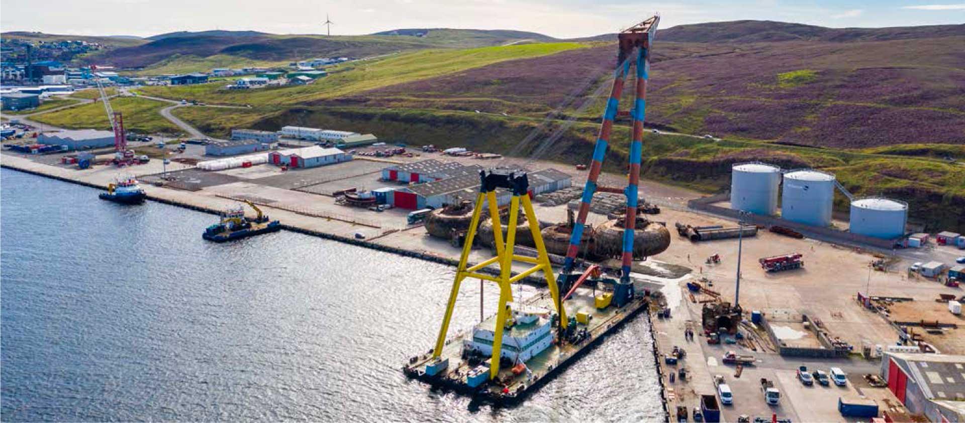 Ocean Kinetics marine team successfully lift the final Buchan Alpha pontoon