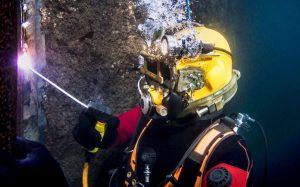 Ocean Kinetics underwater welder