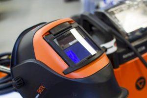 Kemppi welding helmet from Ocean Kinetics