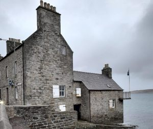 Ocean Kinetics restores 200-year-old Copeland Lodberry on Lerwick's waterfront.