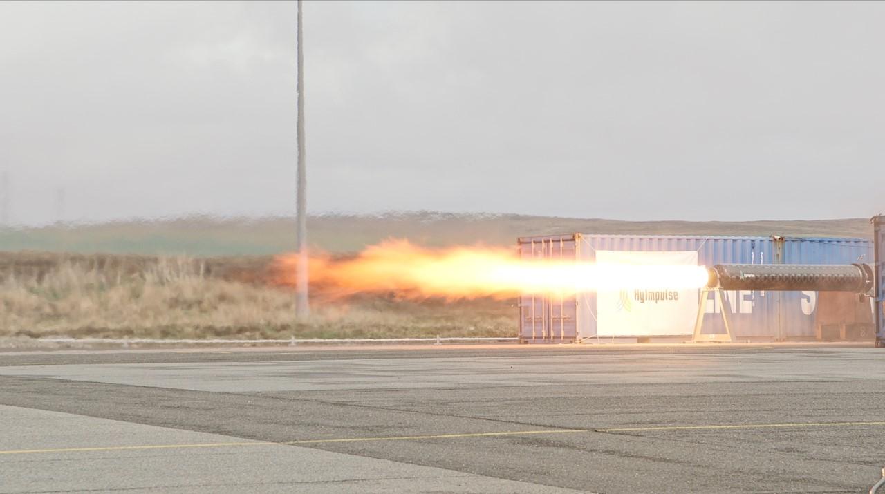 Rocket test launch by Ocean Kinetics