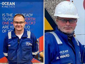 Ocean Kinetics welder and fabricators