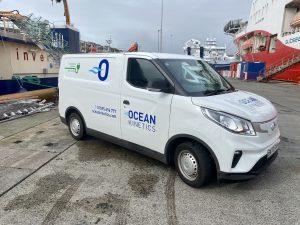 Ocean Kinetics electric van