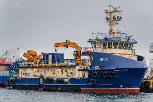 Scottish Sea Farms Fishing Vessel Kallista Helen